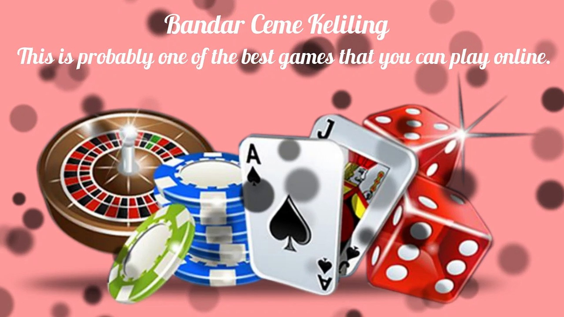 To Know The Secret Behind Online Gambling